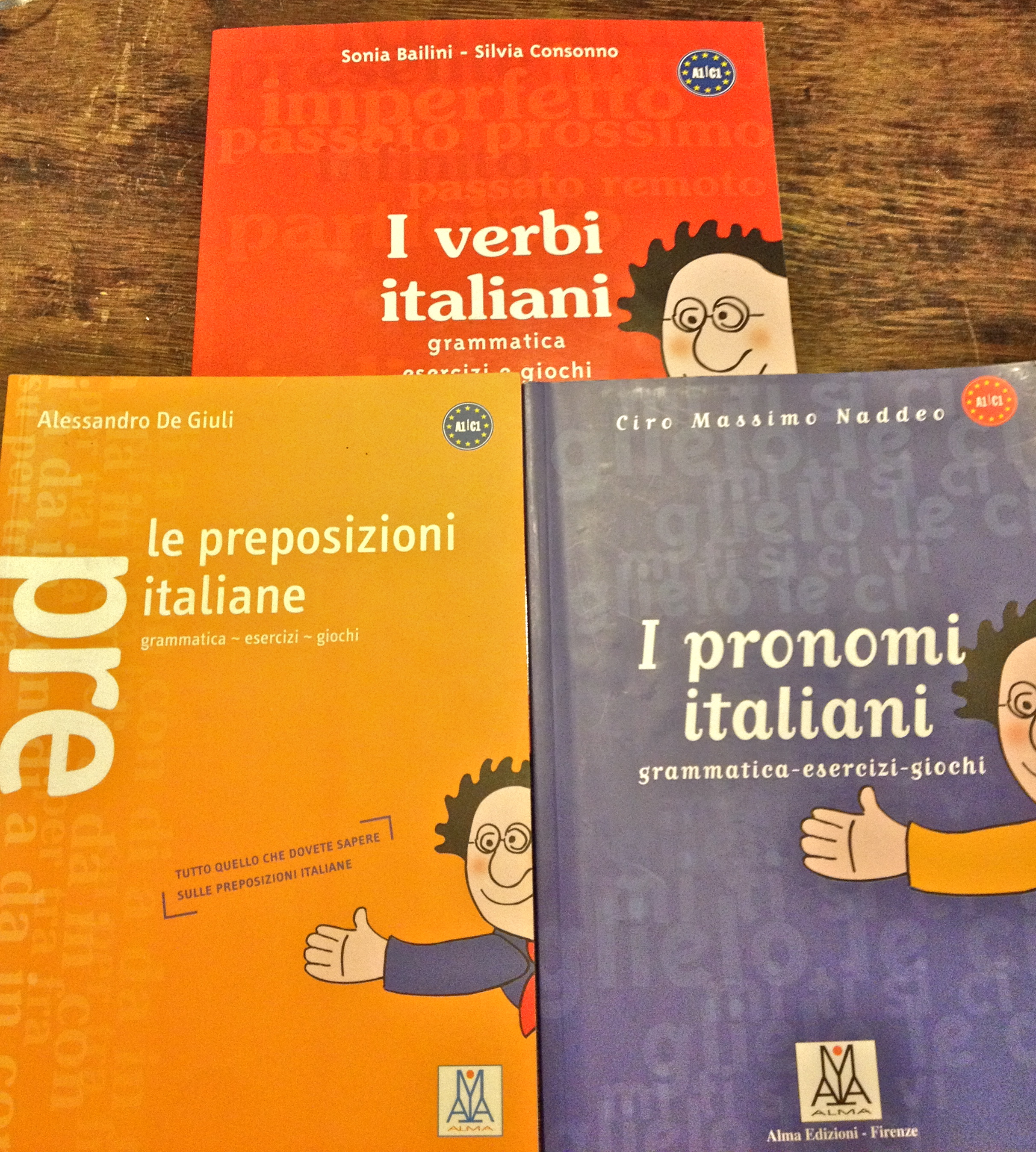 Learning Italian, Part 3