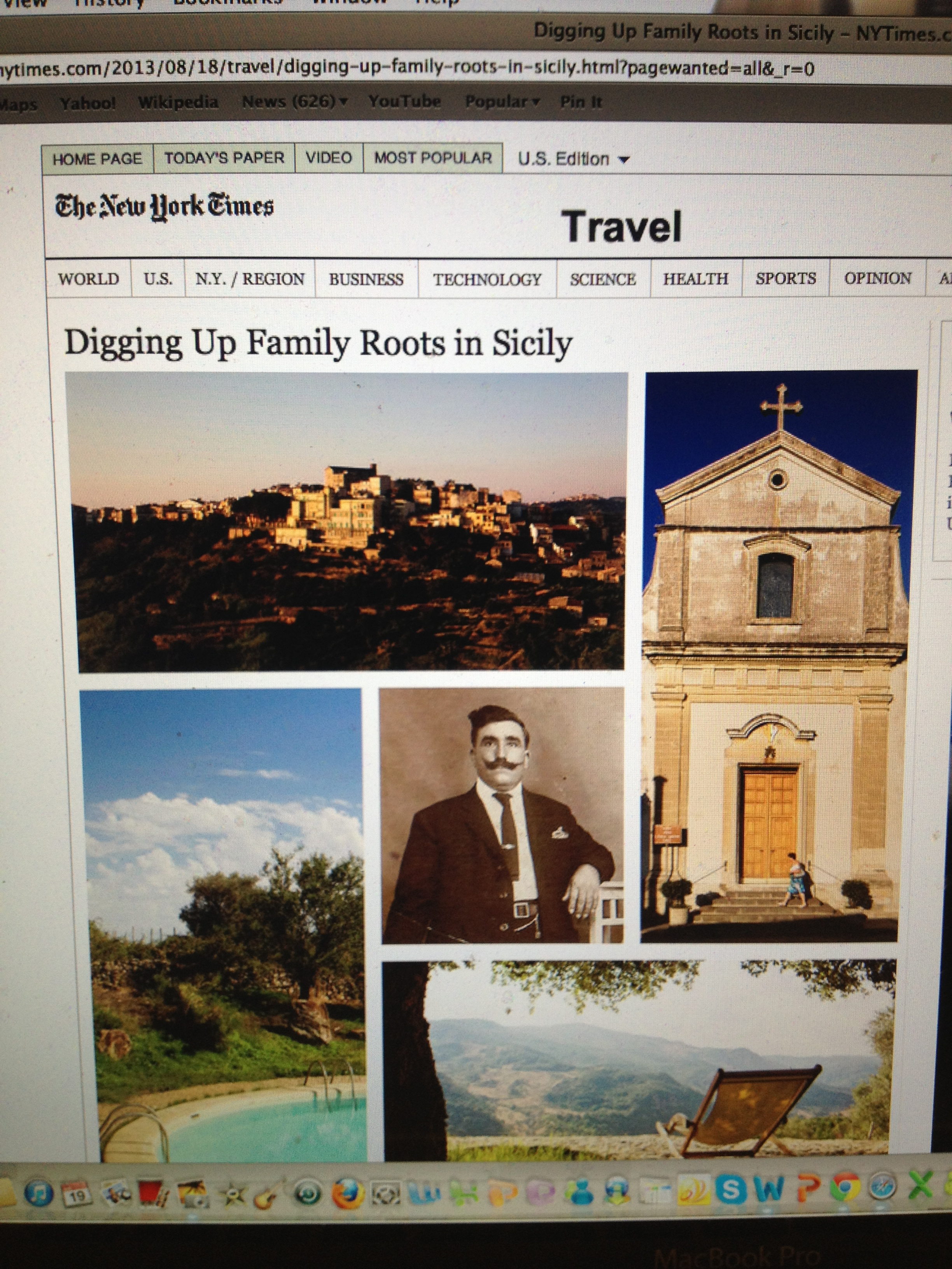 Belated Weekend Reading: The New York Times Travel