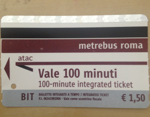 Gripes with Public Transportation in Rome