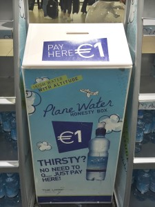 The Honesty Box at Dublin Airport