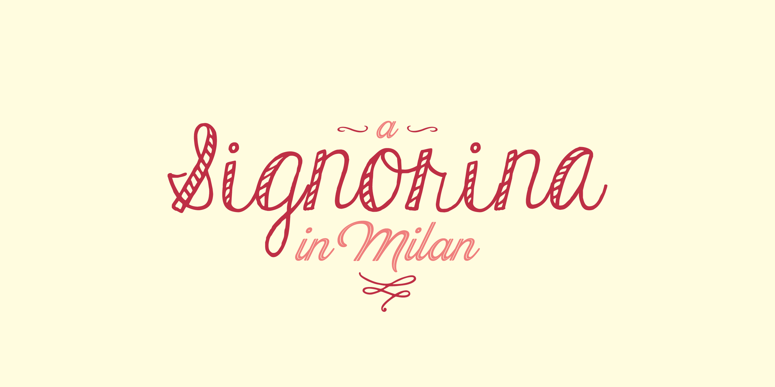A Signorina in Milan - An Americana living, loving and eating in Milan and beyond