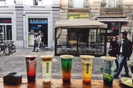 Bubble tea Milano