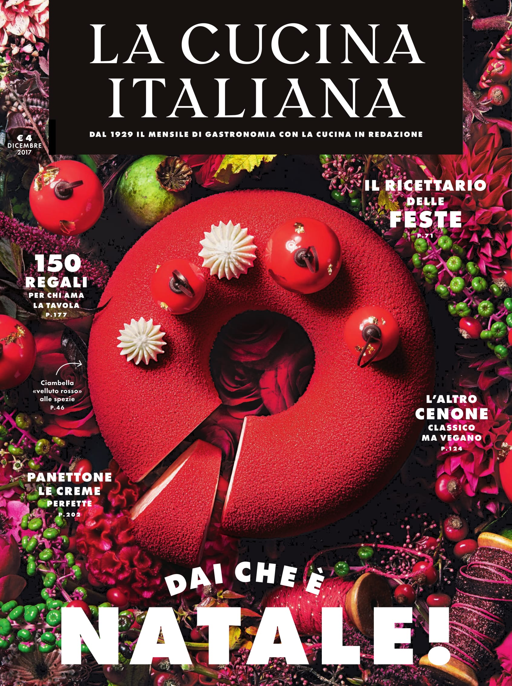 The new la cucina italiana magazine a signorina in milan for Realizza la tua cucina