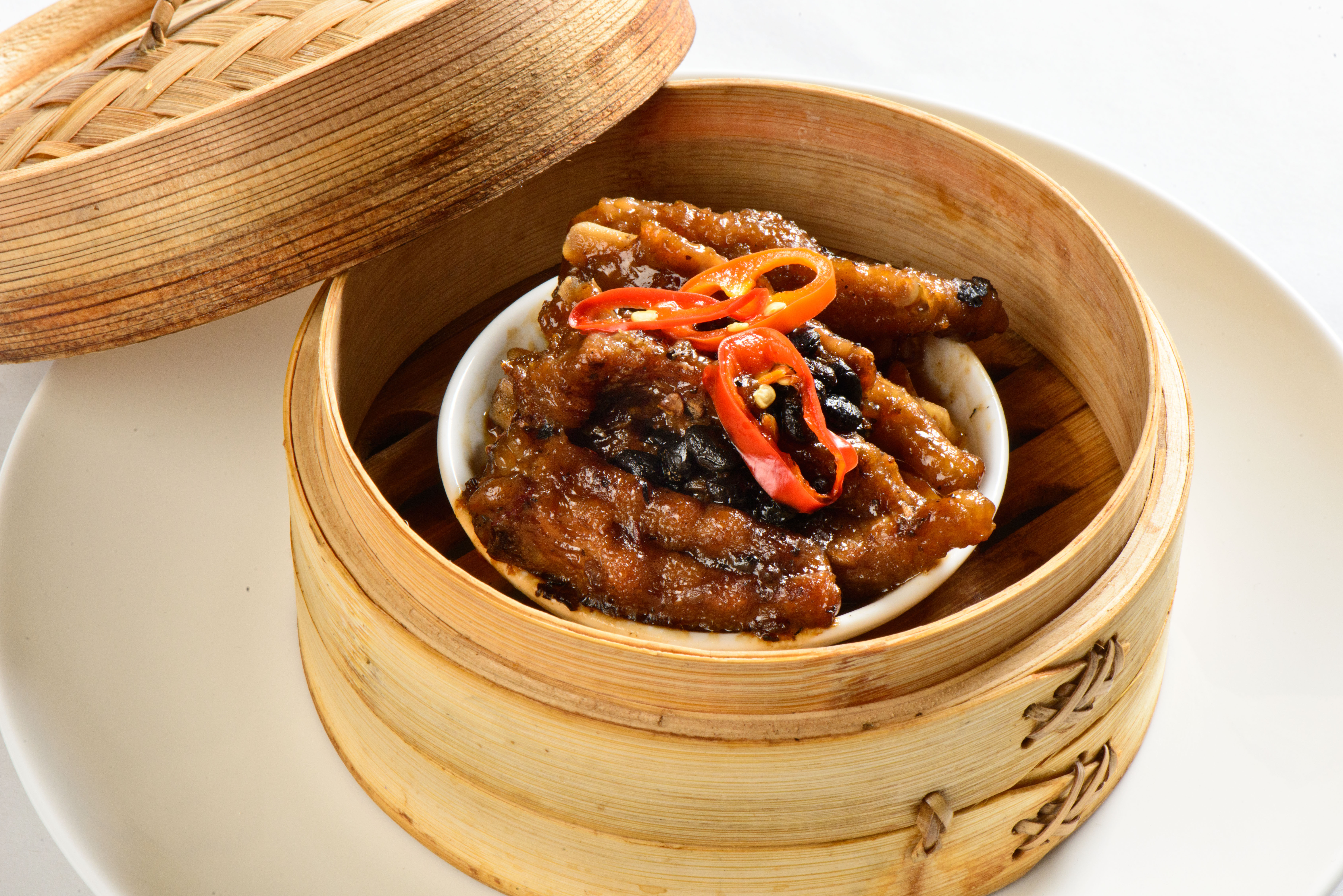 MU dimsum Milano chicken feet