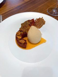 Core restaurant London Clare Smyth chocolate caramel dessert