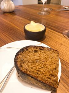 Core restaurant London Clare Smyth bread