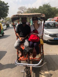 A Day in Delhi rickshaw ride