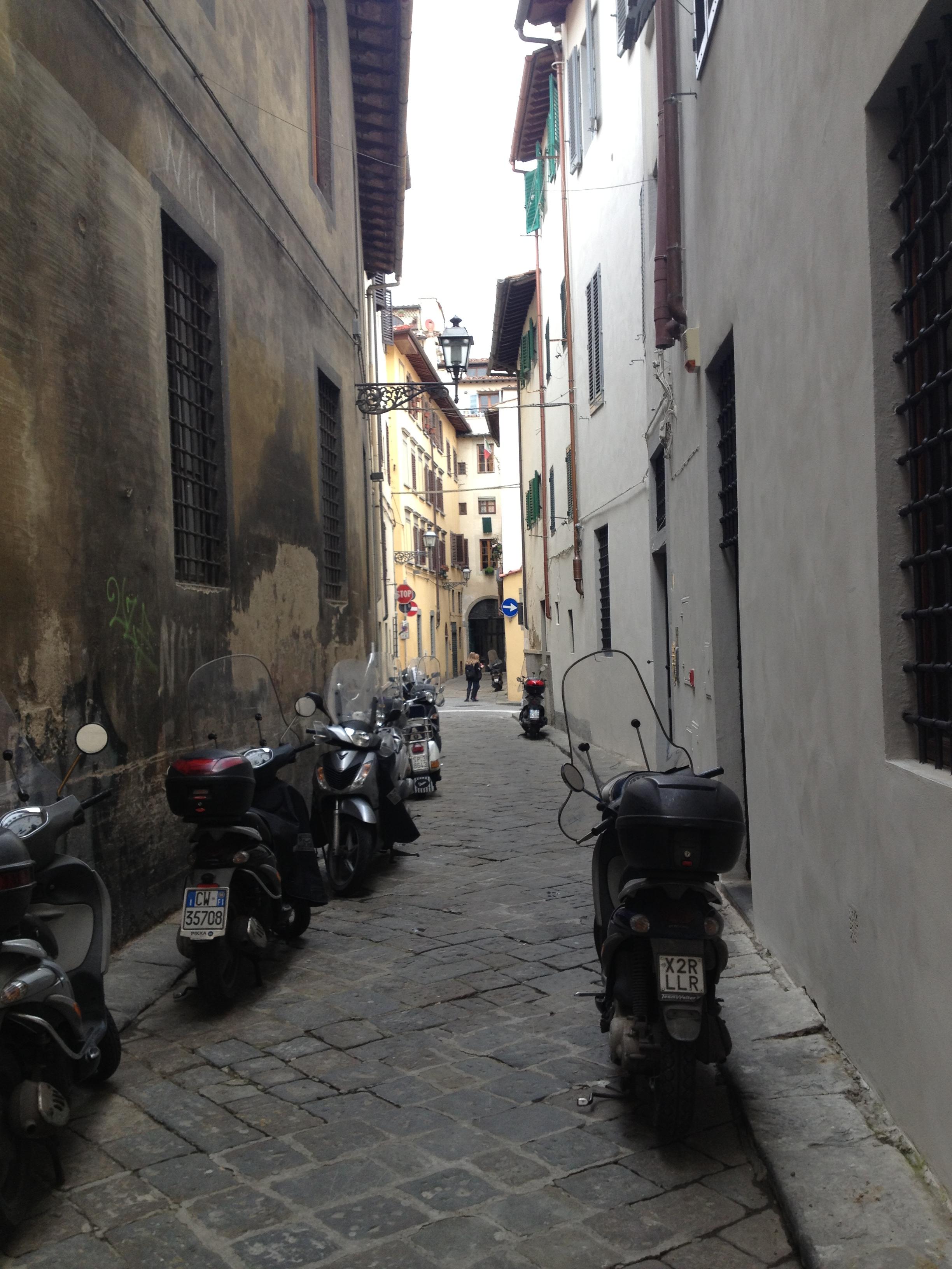 Charming Florentine Street