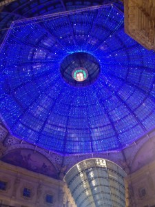 Dome inside Galleria Vittorio Emanuele II, Milan