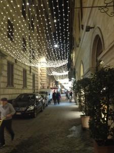 Side Street in Rome