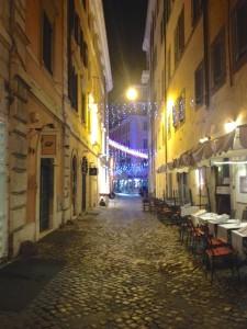 Side Street off Via del Corso, Rome
