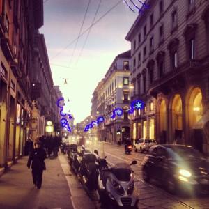 Via Manzoni, Milan