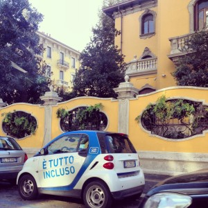 I cannot describe the joy that car sharing in Milan has given me!