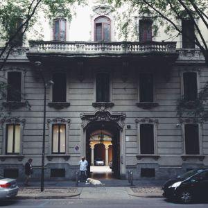 Courtyards of Milan 2 - Romesick and Loving It
