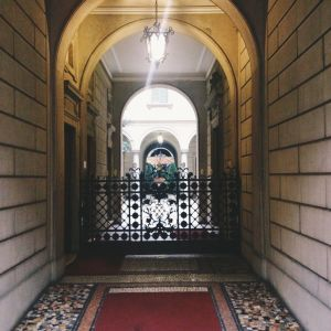 Courtyards of Milan 7 - Romesick and Loving It