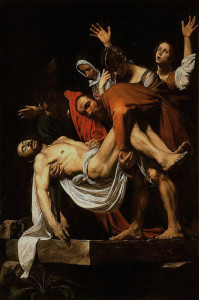 Things to do in Milan Caravaggio Painting Entombment of Christ Replica
