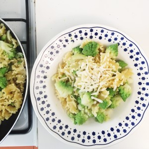 Mafalda Corta Pasta Recipe with Broccoli Romanesco and Pecorino