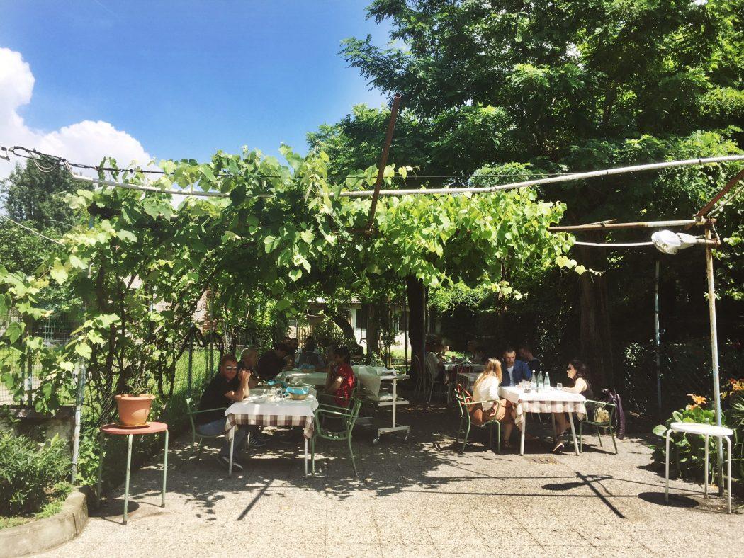 Trattoria Casottel restaurant in Milan