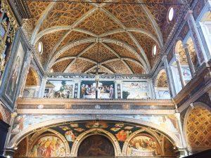 San Maurizio al Monastero Maggiore Milan partition