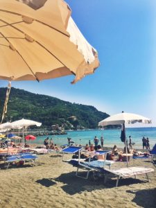 Visit Levanto Beach Umbrella Italy Liguria Cinque Terre