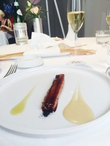 Osteria Francescana The Eel swimming up the Po River