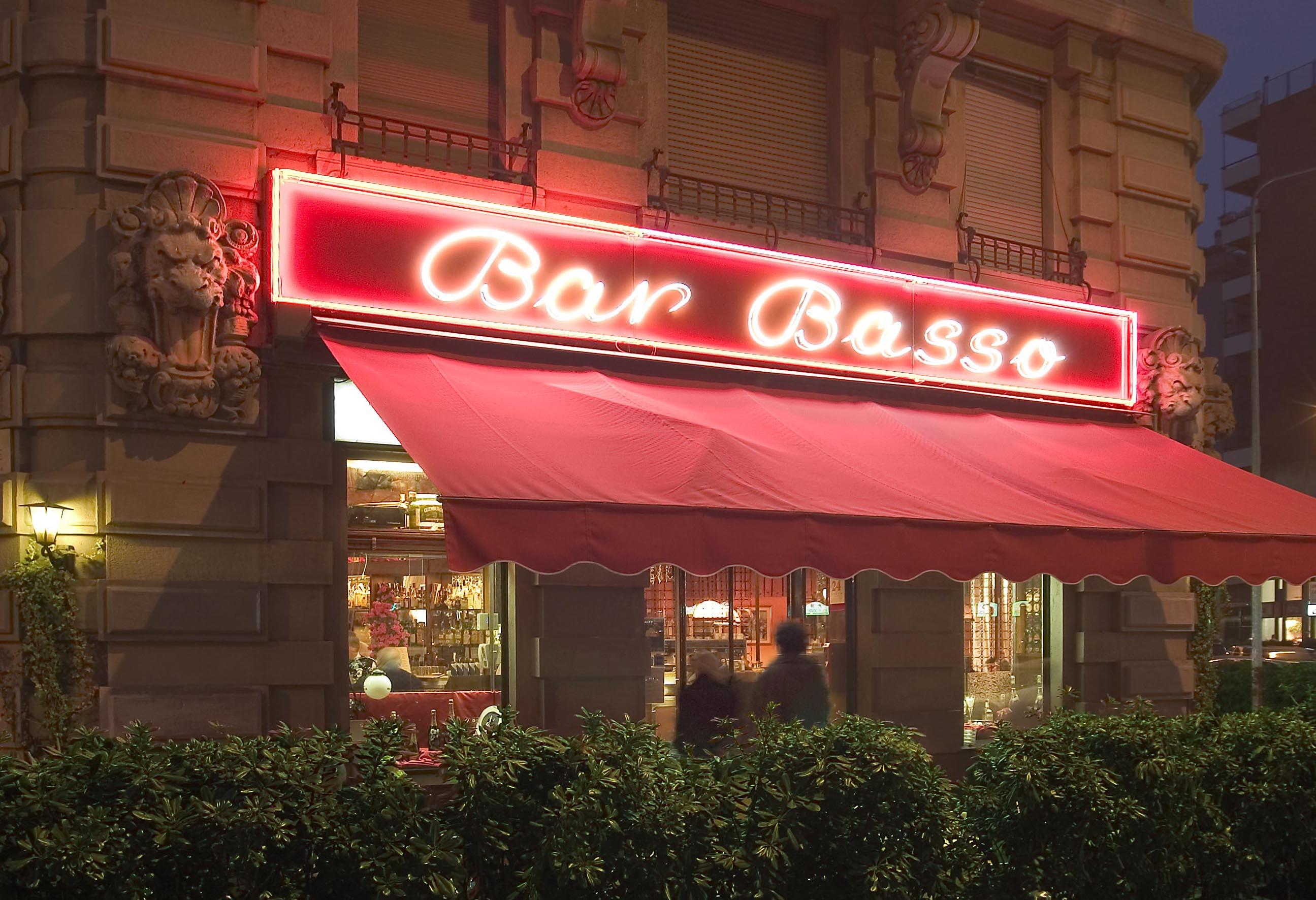 Bar Basso - best cocktail bar in Milan