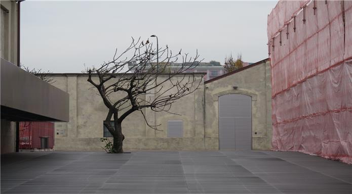 Exterior Prada Foundation in Milan