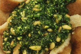 testaroli-al-pesto-latteria-di-san-marco-restaurant-milan