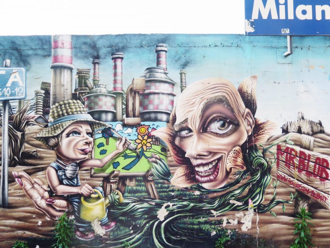 Street art Milano Isola walking tour