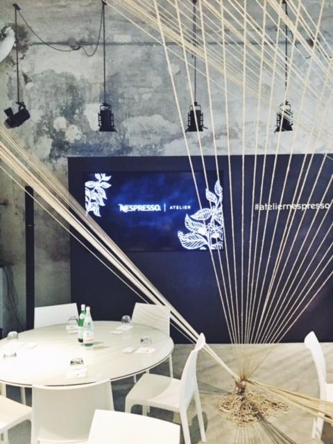 atelier nespresso milan coffee break a signorina in milan. Black Bedroom Furniture Sets. Home Design Ideas