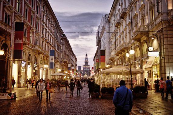 Jaclyn DeGiorgio American writer in Milan four years an expat