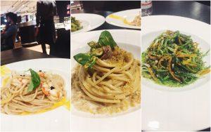 Babitonga Cafè Milano Fondazione Feltrinelli Spaghetti