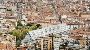 Babitonga Cafè Milano Fondazione Feltrinelli Aerial shot