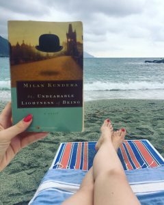 Weekend in Monterosso Cinque Terre Beach read