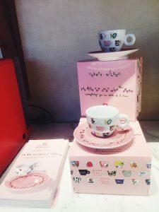 Illy Caffè Flagship Montenapoleone Milan Robert Wilson cups