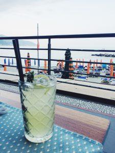 Weekend in Monterosso Cinque Terre Monterosso Mule cocktail