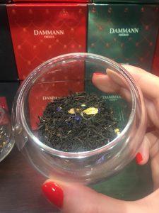 Dammann Frères Milano Green Christmas tea