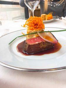Giacomo restaurant Milan veal