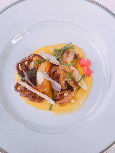 Giacomo restaurant Milan octopus
