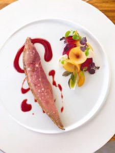 Mirazur restaurant Challans duck