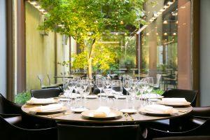 Identità Golose Milano table daytime