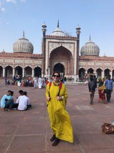 A Day in Delhi Mosque