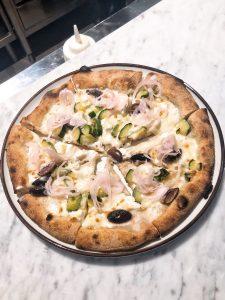Berberè Milano zucchini pizza