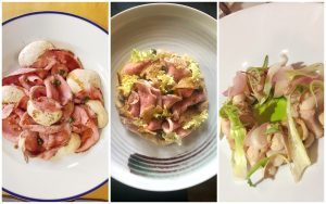 Vitello tonnato in Milan three ways